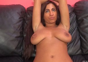 Big tits Stacy got her wet pussy toyed and screwed hardcore