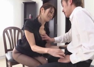 Schlong sucking is something that the Japanese babes are so good at!