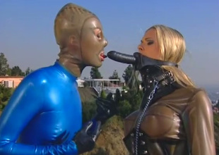 Super busty blond head Brianna Banks has nothing against sucking dick
