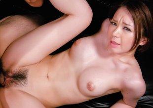 Crazy Japanese slut China Mimura in Amazing JAV uncensored Hardcore movie scene