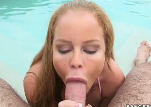 Chica Nikki Delano with big booty is in sexual ecstasy with horny bang buddy