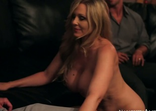 Rocco Reed acquires joy from fucking Asian Julia Ann with phat booty and trimmed vagina