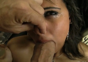 Brigi makes her anal fantasies a reality with her hard cocked fuck buddyRocco Siffredi after oral pleasure
