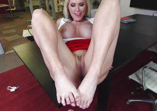 Big cock drilling unfathomable into Alena Croft