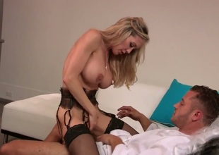 Brandi Love cant wait to be fucked in her mouth by hard cocked stud