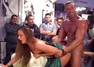 Barefaced Public Fucking