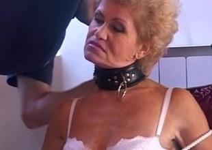 Perverted granny